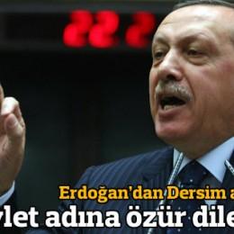 Başbakan Dersim Belgelerini Açıkladı ve Özür Diledi