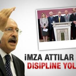 Kılıçdaroğlu Ulusalcı Vekillere Rest Çekti