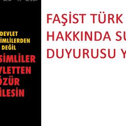 Türk Solu Hakkında Suç Duyurusu
