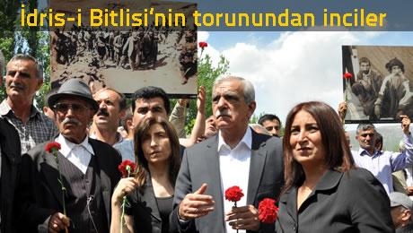 38 Anmasından çok siyasi şov etkinliğine dönen anmada Mardinli Ahmet Türk, Dersimlilere hakaret ederken yanındaki Dersimlilerde alkışladı.