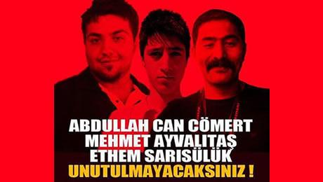 Gezi Parkı eylemlerinde hayatını kaybeden 3 CAN...