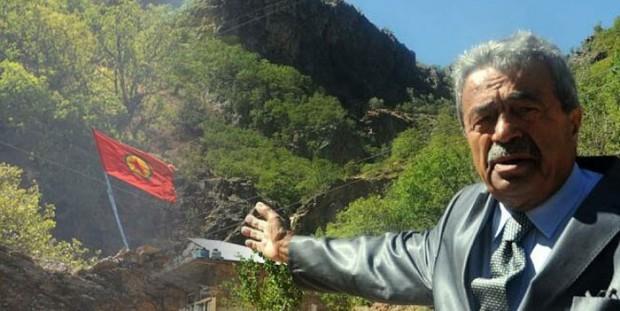 Kamer Genç, Pülümür Vadisi Alacık mevkinde bulunan PKK flamalarıyla ilgili basın açıklaması yapmıştı.