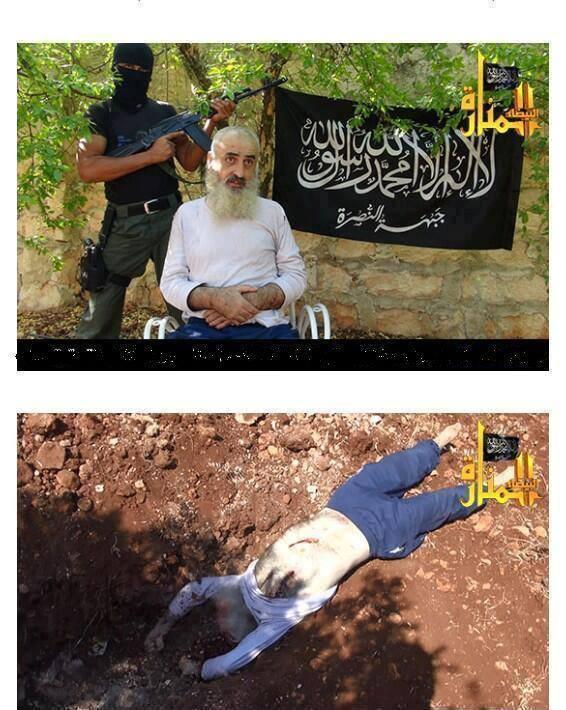 Cihatçı katillerin yayınladığı işkence görüntüleri..
