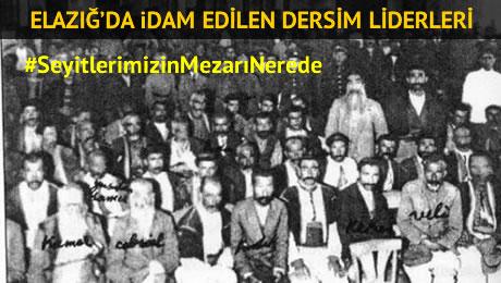 15 Kasım 1937′de İdam Edilen Dersim Seyitlerinin İsimleri