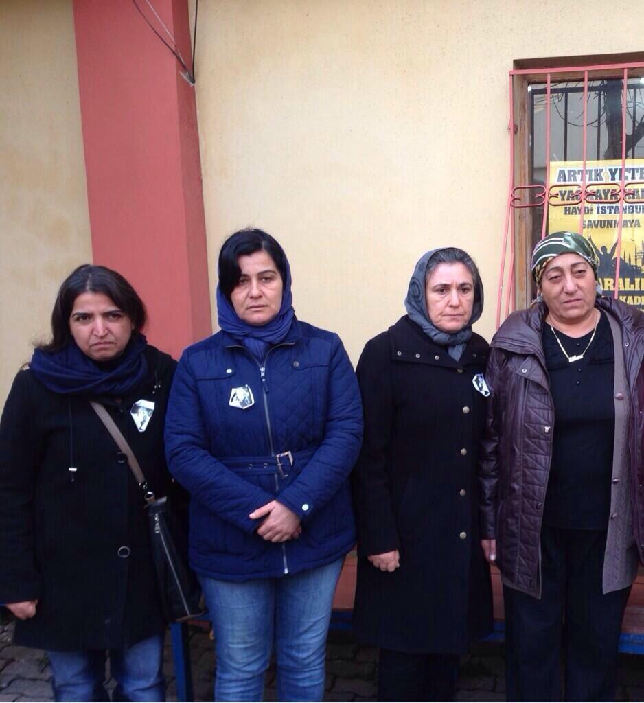 Ethem'in Berkin'in Aliİsmail'in Ahmet'in anneleri Fadime ana için bir araya geldi