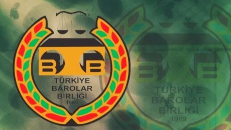 Barolar Birliğinden Dersim Baro Başkanı Yeşiltepe'ye Destek