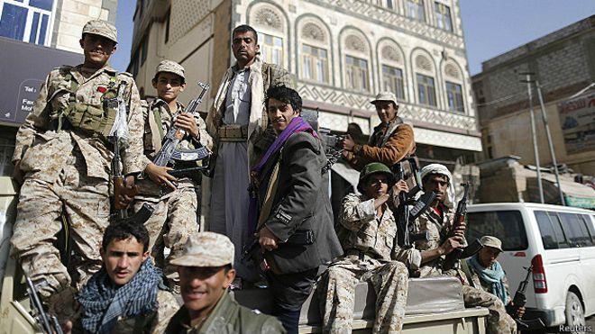 Husi militanları ülkenin başkenti Sana'da kontrolü ele geçirdi.