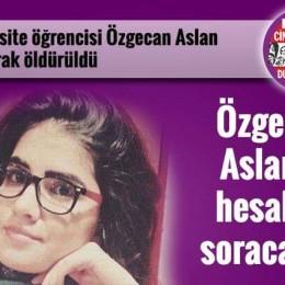 Üniversiteli Özgecan'a Önce Tecavüz Ettiler Sonra Yakarak Öldürdüler!