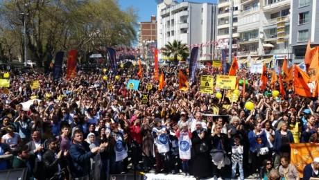Sinop'ta 40 Bin Kişi Nükleere Karşı Yürüdü