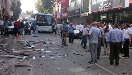 HDP'nin Adana ve Mersin İl Binalarına Bombalı Saldırı