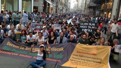 Havaçor'daki Doğa Katliamı Protesto Ettiler