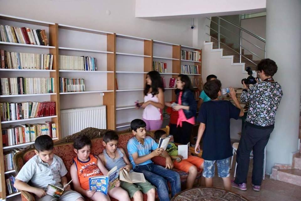 Belediyenin uygulaması çocuklara kitap okumayı sevdiriyor.