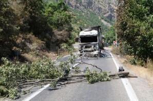 Dersim-Erzincan Karayolu 4 Gündür Kapalı