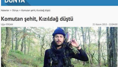 Hürriyet, Alevi düşmanı cihatçı teröristi 'şehit' ilan etti