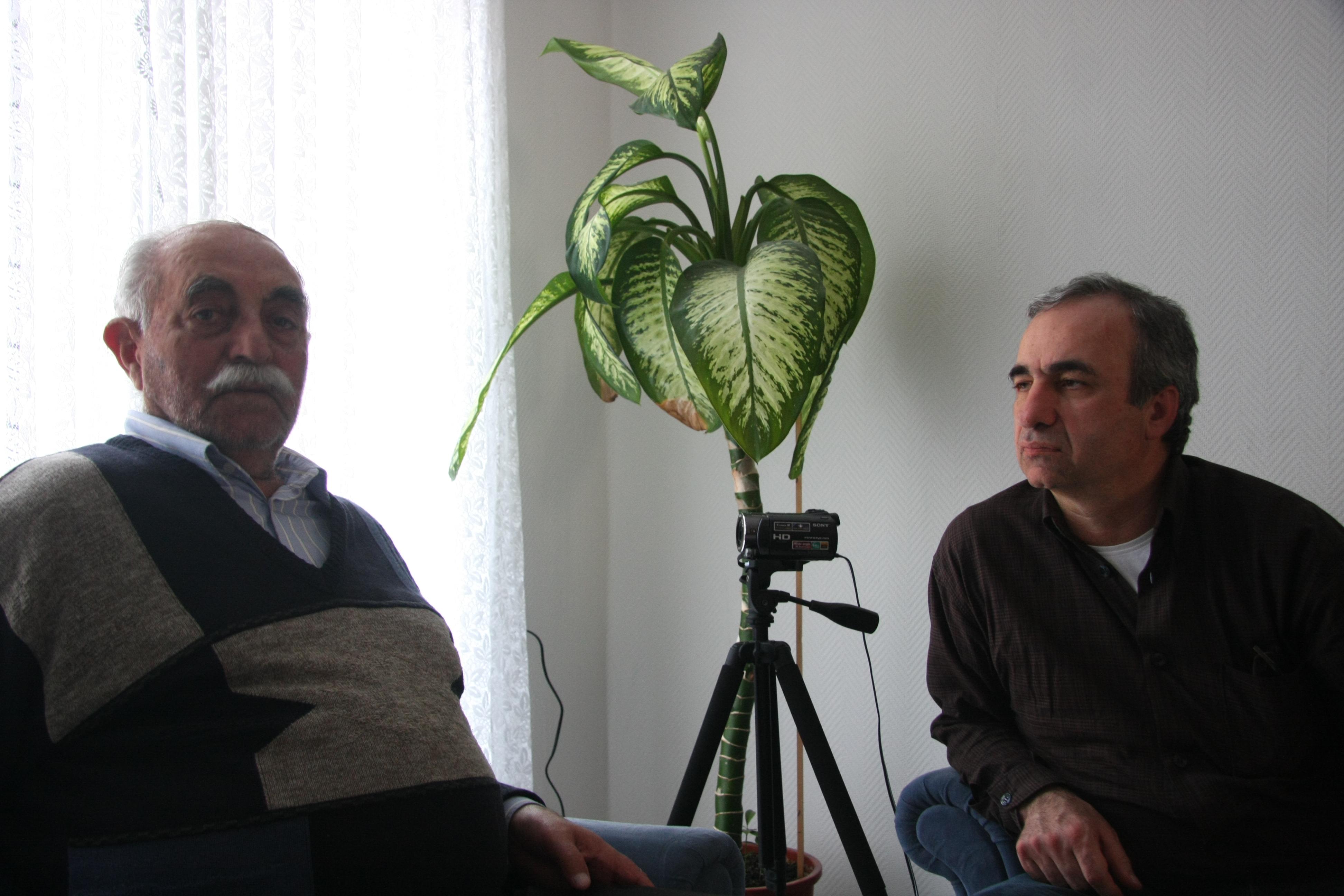 Mehmet Yıldız (sağda)
