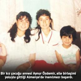 Nazımiye'nin bir köyünden Almanya'da zirveye uzanan bir öykü:  Aynur Özdemir
