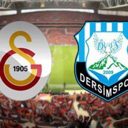 Galatasaray – Dersimspor maçının özeti