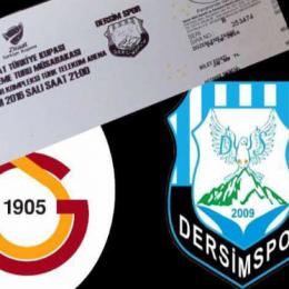 Galatasaray-Dersimspor maçının bilet fiyatları belli oldu