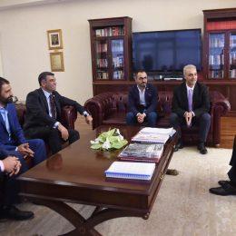 Dersimspor yönetiminden Kılıçdaroğlu'na ziyaret