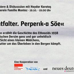 Berlin'de Perperık-a Söe (Gece Kelebeği) okuma günleri