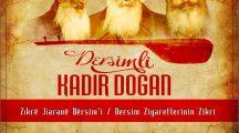 Kadir Doğan'ın Zazaca albümü: Zikrê Jiaranê Dersimi