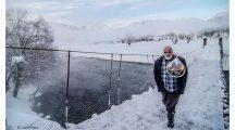 Ovacık'tan kış manzarası