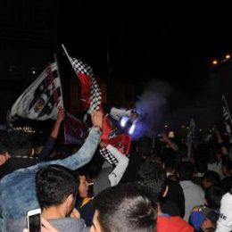 Dersim'de Beşiktaşlı taraftarlar şampiyonluğu kutladı