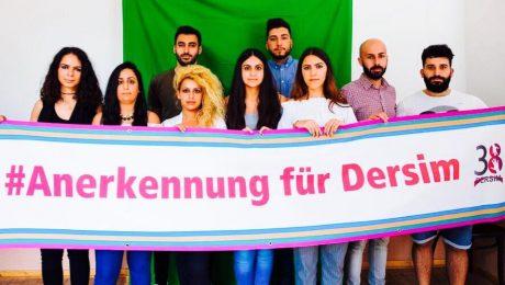 Dersim 38 Tertelesi'nin Alman Meclisi'nde görüşülmesi için imza kampanyası