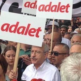 Kılıçdaroğlu, 'Adalet Yürüyüşü'nü Ankara'dan başlattı