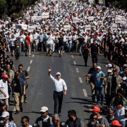 Adalet Yürüyüşü'nün 24. gününde 230 bin kişi yürüdü