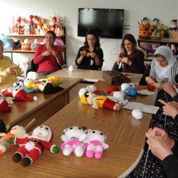 Hozat'ta kadınların ürettiği organik oyuncak bebeklere yoğun ilgi