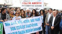 """İstanbul'da """"Munzur için Ayaktayız"""" eylemi"""