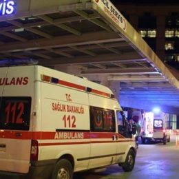Zırhlı askeri aracın çarptığı kişi ağır yaralandı