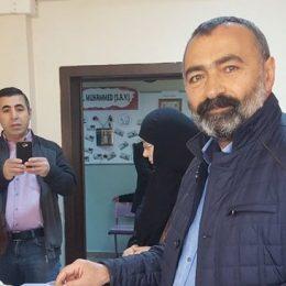 HDP adayı Turgut Öker'in adaylığı YSK tarafından reddedildi