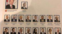 Yeni sistemin ilk Cumhurbaşkanlığı kabinesi açıklandı