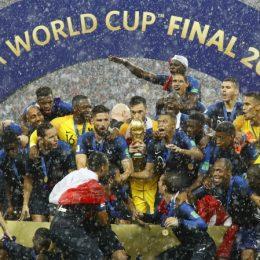 Rusya 2018 Dünya Kupası Fransa'nın