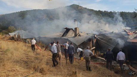 Kılıçdaroğlu'nun Dersim'de doğduğu ev yangında kül oldu