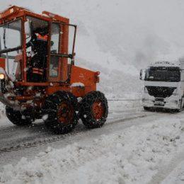 Dersim-Erzincan karayolu ulaşıma kapandı