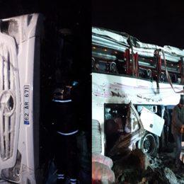 Yolcu otobüsü devrildi: 3 kişi hayatını kaybetti