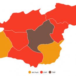 Dersim: Rakamlarla 2019 Yerel Seçim Sonuçları