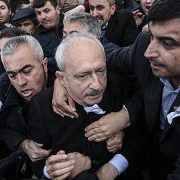 Kılıçdaroğlu'na saldırının detaylı görüntüleri