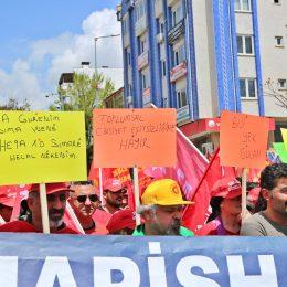 Dersim'de Emekçiler 1 Mayıs'ta alanlardaydı